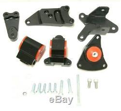 For RSX DC5 EP3 SI K20 K24 K Series CNC Billet Aluminum Engine Motor Mount Kit