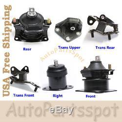 G062 03-07 Honda Accord 2.4L Motor & Trans. Mount Kit 6PCS for Auto Trans