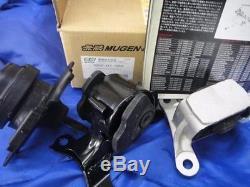 GENUINE HONDA MUGEN ENGINE MOUNT RUBBER SET EP3 DC5 RSX K20A JDM Civic Integra