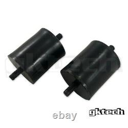GKTECH CA18/SR20/KA24 Polyurethane engine mounts (Pair) #1121065f11 #1122085F00