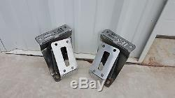 GM Truck Engine / Motor Frame Mounts Large Clam Shell LS Swap for 1963 1987