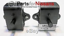 Genuine Nissan Datsun 240z 260z 280z 280zx Engine Motor Mount Set Of 2 New Oem