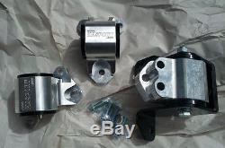 HASPORT 1996-2000 HONDA CIVIC B18B1 B18C B18C1 B18C5 ENGINE SWAP MOUNTS 62A EK