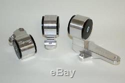 HASPORT MOUNTS 1988-1991 HONDA CIVIC CRX EF B16 B18 CABLE ENGINE MOTOR SWAP EFB1
