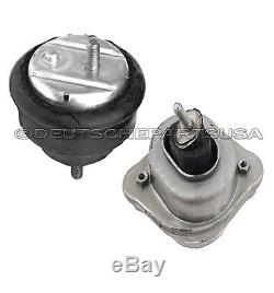 HYDRAULIC OIL FILLED Engine Motor Mount Mounts for BMW E46 325Xi 330Xi SET 2