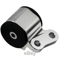 Hashimoto 96-00 Civic Replacement Engine Motor Mounts Kit Solid Billet Aluminum