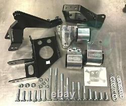 Hasport Dual Height Engine Mounts 92-95 Honda Civic EGK2 70A K Swap K20 K24