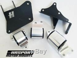 Hasport K20 K24 Swap Motor Mount Kit 01-05 Honda Civic EM2 / ES ESK3-62A Street