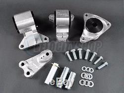 Hasport Motor Mounts Kit 02-06 RSX Manual Transmission 62A durometer