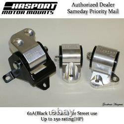 Hasport Mount 96-00 Civic EK Stock Replacement Mount Kit B/D Series 2-Bolt 62A