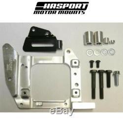 Hasport Mounts 88-91 Civic/CRX EF B-Series Engine Swap AC Bracket & Hardware