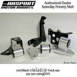 Hasport Mounts Dual Height K-Series K20 K24 Swap into 96-00 Honda Civic EKK2-70A