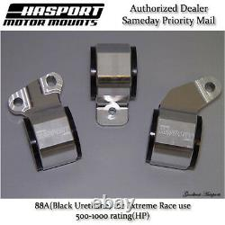 Hasport for 88-91 Honda Civic/CRX D-Series OBD0 Stock Replacement Mount Kit 88A