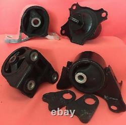 Honda Civic 2001-2005 Automatic Transmission Engine Motor Mount kit 4 pcs 1.7L