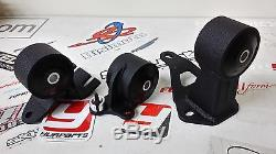 Innovative 19150 Motor Mounts Kit 75a Civic & CRX 88-91 B16 B18 Cable Trans