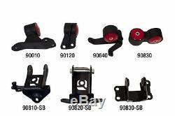 Innovative 90850 Motor Mounts Kit 60a for 2006-2011 Civic Si Coupe & Sedan 2/4dr