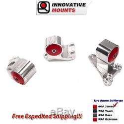 Innovative 92-93 Integra RS/LS Billet Mount Kit for B Series with Cable Trans 60A