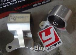 Innovative B90650 Billet Motor Mounts Kit 75a for 02-06 RSX Type-S & Base DC5