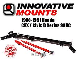 Innovative Competition Traction Bar 1988-1991 Honda CRX Civic D Series SOHC EF
