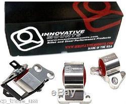 Innovative Motor Mounts Kit Civic 96-00 EK 2 Bolt Post Mount Billet B10050-60A