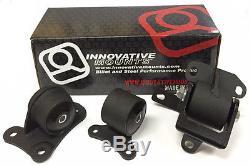 Innovative Motor Mounts Kit Honda Prelude 97-01 H22 Engine 20150-75A (Track)
