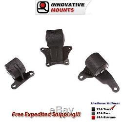 Innovative Mounts 90-93 Accord Conversion H22 Mount Kit with 4 Bolt Rear Mount