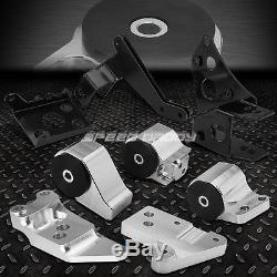 K-SERIES SWAP BILLET ALUMINUM ENGINE MOTOR MOUNT KIT FOR 96-00 HONDA CIVIC EK EJ