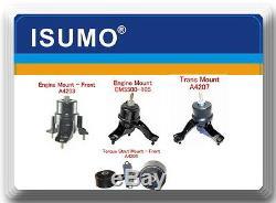Kit 4 Pcs Engine & Trans Mount Fits Toyota Camry 2002-2006 L4 2.4L