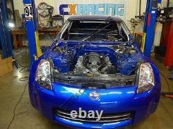 LS1 Engine T56 Transmission Mount Header Oil Pan For Nissan 350Z Swap