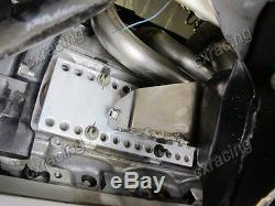LS1 Engine T56 Transmission Swap Kit+Header+Oil Pan+Dipstick For 240SX S13 S14