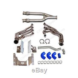 LS1 Engine Transmission Mounts Kit Header Y Pipe Radiator Pipe For 91-99 BMW E36