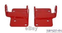 LSx Swap Motor Mount Bushing Adapters 1970-1992 GM F-Body & 1978-1987 G-Body