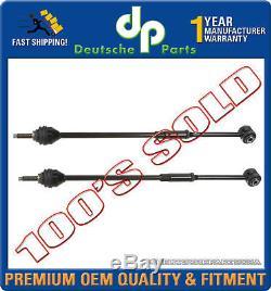 Lincoln Ls Rear Toe Adjustment Link Torque Tie Rod Rods L+r 6w4z-5b551-aa Set 2