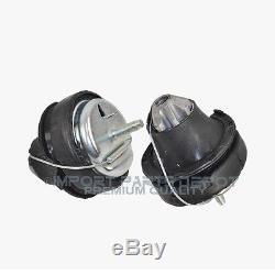 Lower Engine Motor Mount Front & Rear Volvo S60 V70 XC70 S80 XC90 4551 (2pcs)