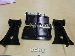 Ls Lsx Universal Adjustable Motor Mounts Street Rod Swap 4.8 5.3 5.7 6.0 6.2