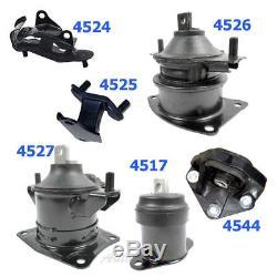 M061 For Honda Accord 3.0L Auto Trans 03-07 Engine Motor & Trans Mount Set 6PCS