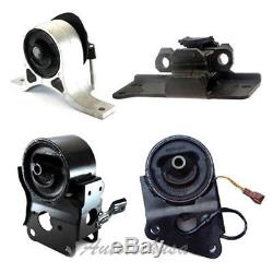 M893 Engine Motor & Trans Mount 4PCS For 03-07 Nissan Murano 3.5L 2WD with Sensor