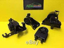 Mazda Protege 99-03 1.8L 2.0L Engine Motor Mount Set MT