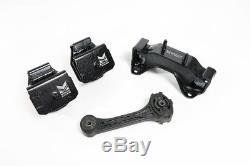Megan Racing Reinforced Engine Motor Mounts Set Subaru Impreza WRX STI 5MT 95-07