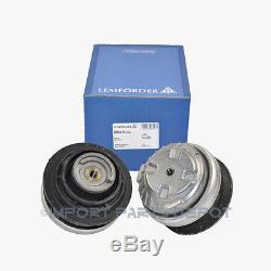 Mercedes-Benz Engine Motor Mount Left & Right Lemforder OEM 202/220/230 (2pcs)