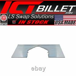 Mid Plate Solid Aluminum Mount SBC BBC LS LT Chevy Motor / Engine