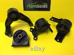 Mitsubishi Lancer 08-13 Engine Motor Mount Set Automatic 4pcs