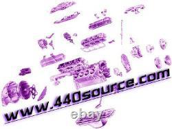 Mopar Chrysler Dodge Big Block 361 383 440 Engine Mount Brackets 62-65 B Body