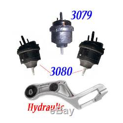 MotorKing For 05-07 Ford Mercury FM04 3079 30802 SET M637 Engine Motor Mount