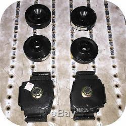 Motor Mount Kit for Toyota Land Cruiser FJ40 FJ45 2F Engine Tranny
