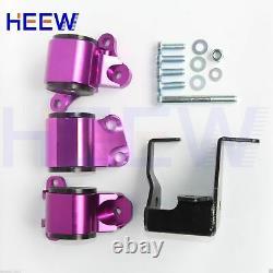 Motor Mounts Engine For Honda Civic 96-00 B-Series EK D16 B16 B18 Purple 2/Bolts