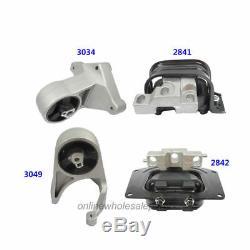 Motor & Trans. Mount 4PCS For 01-06 Chrysler Sebring Dodge Stratus 2.4/2.7L M372
