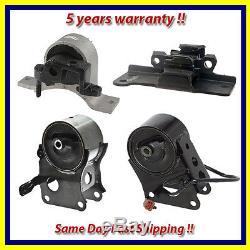 Motor & Trans Mount Set 4PCS for 2004-2006 Nissan Maxima 3.5L with Sensor for Auto