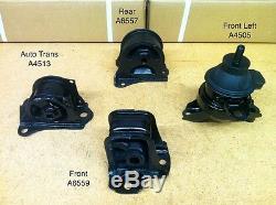 Motor & Trans Mounts A6559 A4505 A6557 A4513 for 97-01 Honda Prelude 2.2L