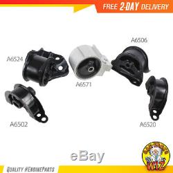 NEW Engine Motor & Trans Mount Set Fits 94-01 Acura Integra 1.8L 5PCS for Manual